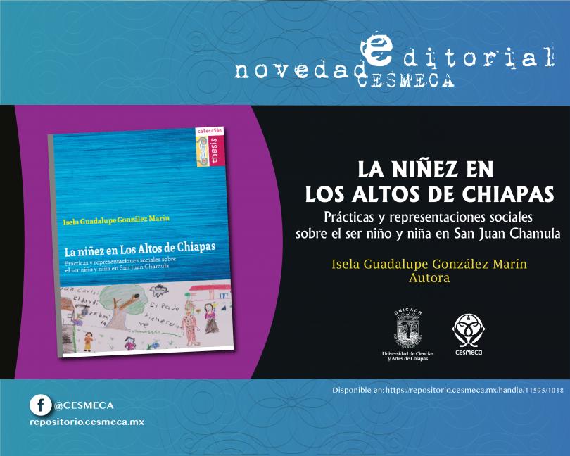 La niñez en Los Altos de Chiapas. Prácticas y representaciones sociales sobre el ser niño y niña en San Juan Chamula