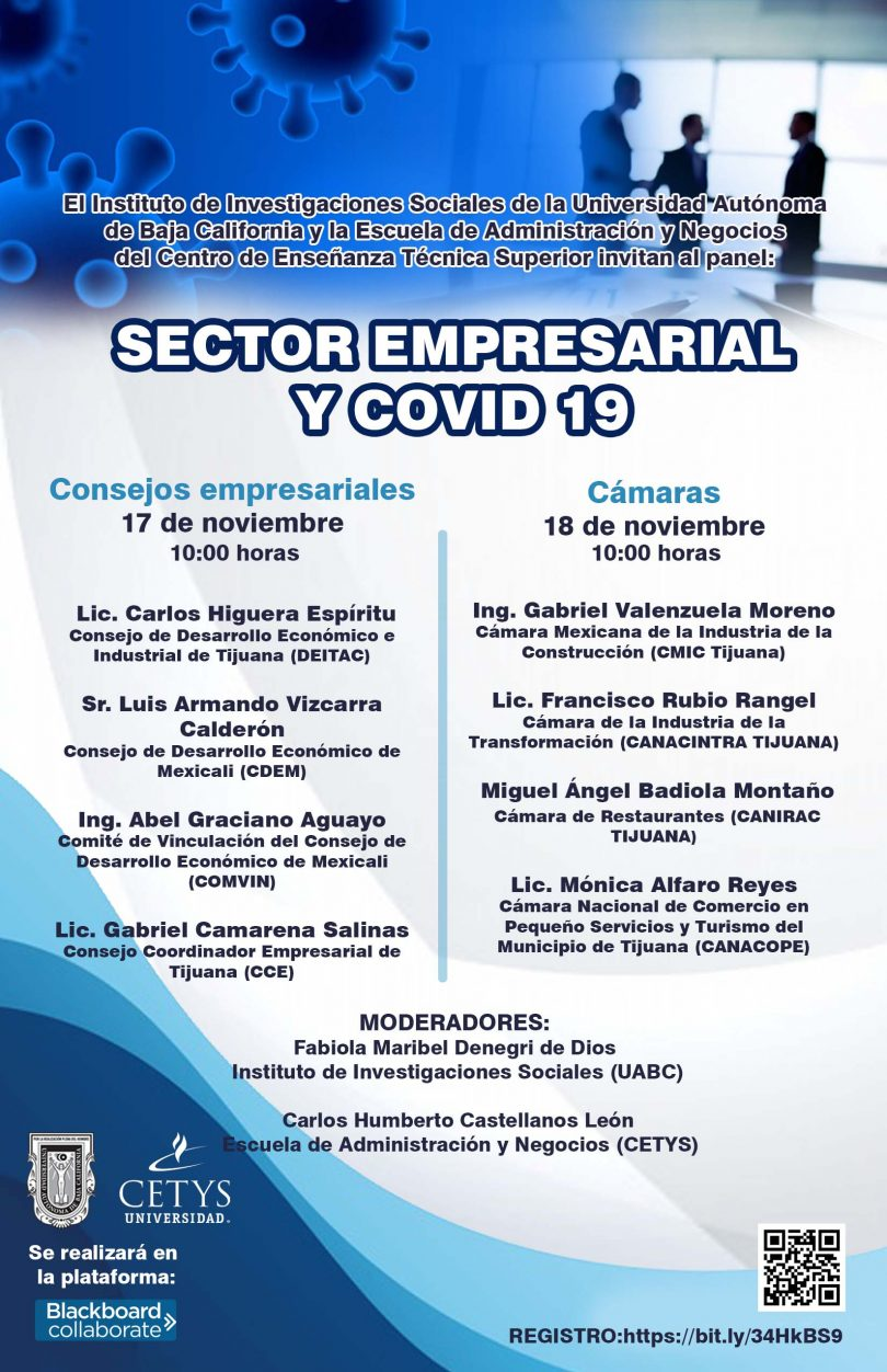 Panel: Sector empresarial y COVID-19