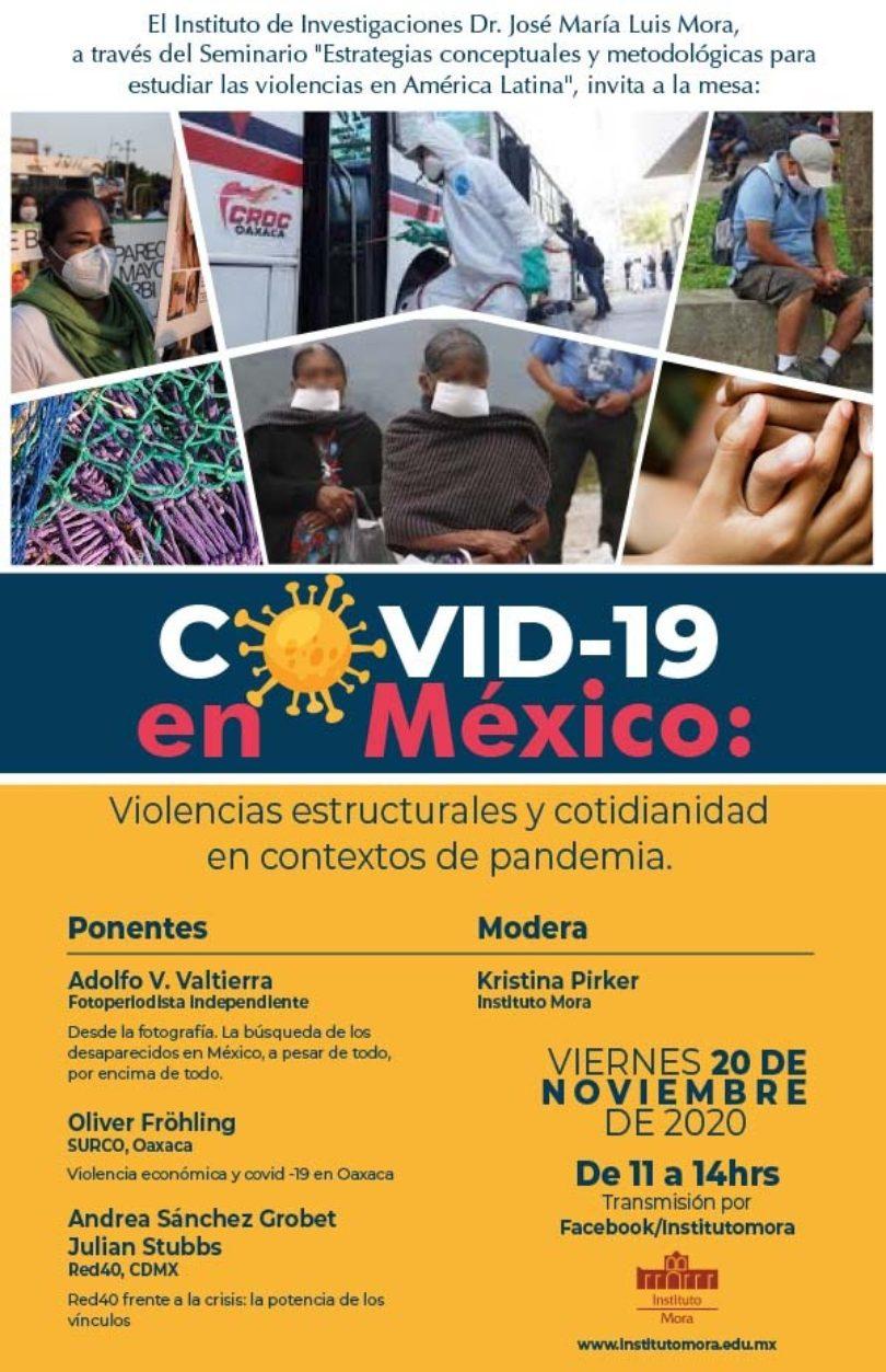 Violencias estructurales y cotidianidad en contextos de pandemia