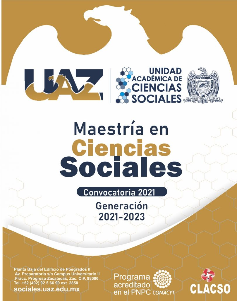 Maestría en Ciencias Sociales-UAZ