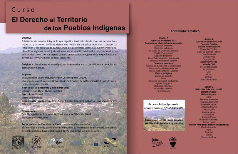 El derecho al territorio de los pueblos indígenas
