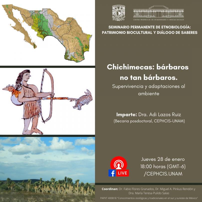 Chichimecas: bárbaros no tan bárbaros