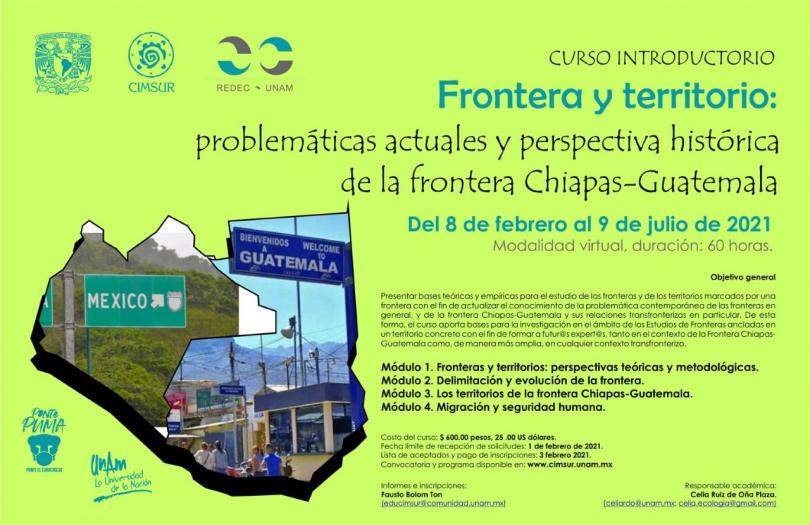 Frontera y territorio: problemáticas actuales y perspectiva histórica