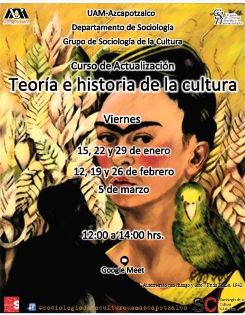 Curso Teoría e historia de la cultura