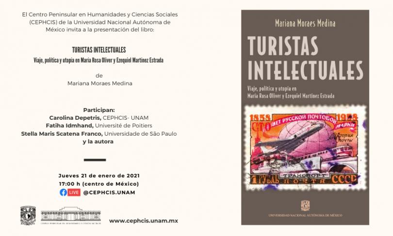 Presentación del libro: Turistas Intelectuales