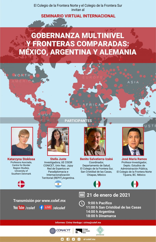 Gobernanza Multinivel y Fronteras Comparadas: México, Argentina y Alemania
