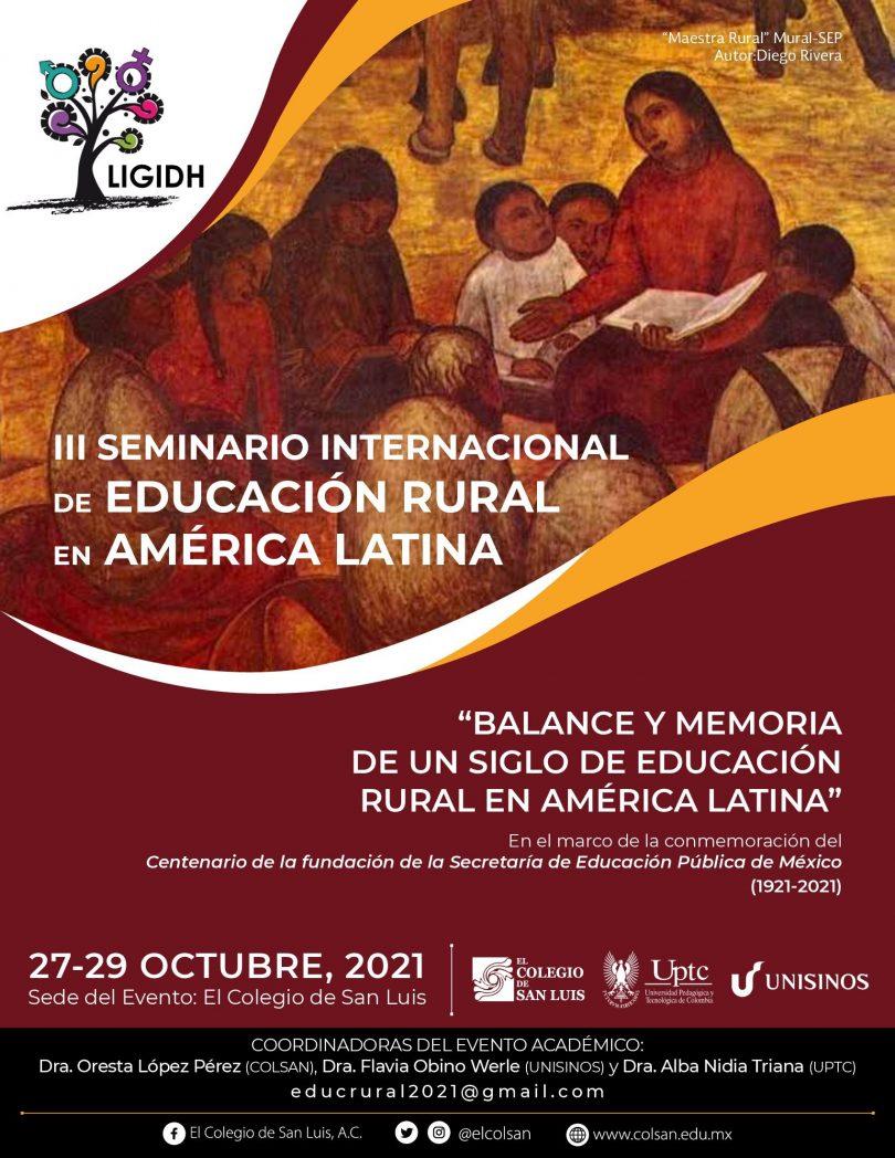 III Seminario Internacional de educación rural en América Latina