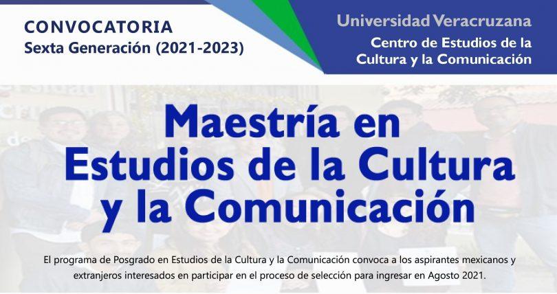 Maestría en Estudios de la Cultura y la Comunicación