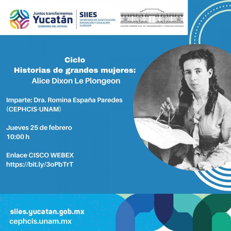 Historias de Grandes Mujeres: Alice Dixon Le Plongeon