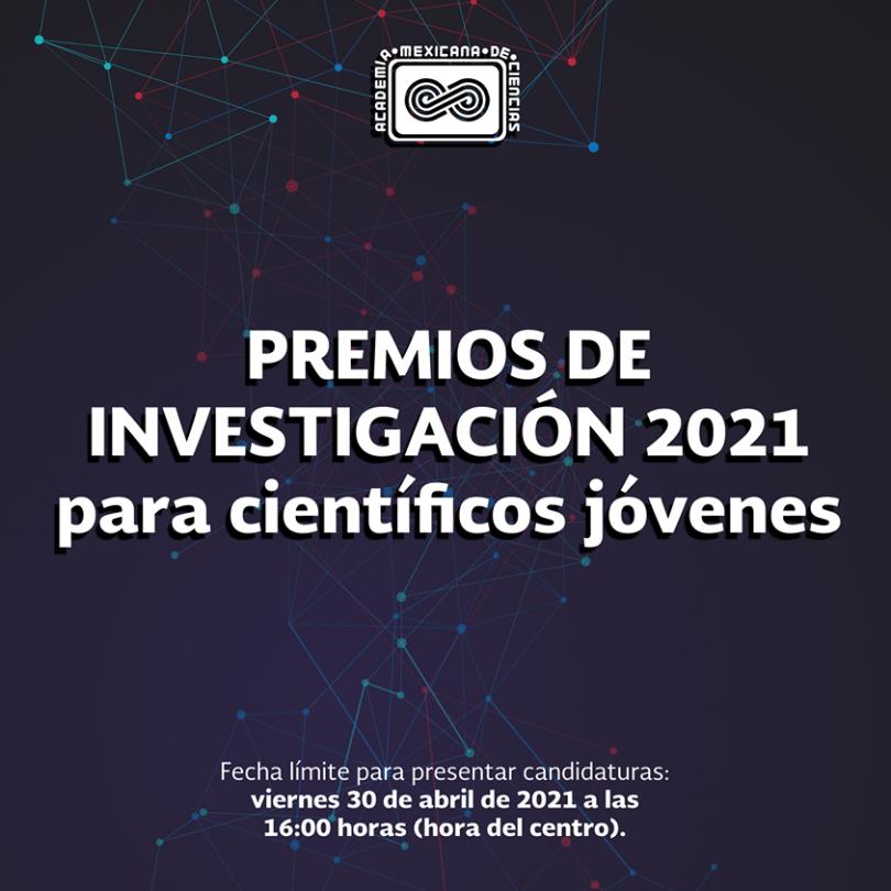 Premios de Investigación 2021 para científicos jóvenes