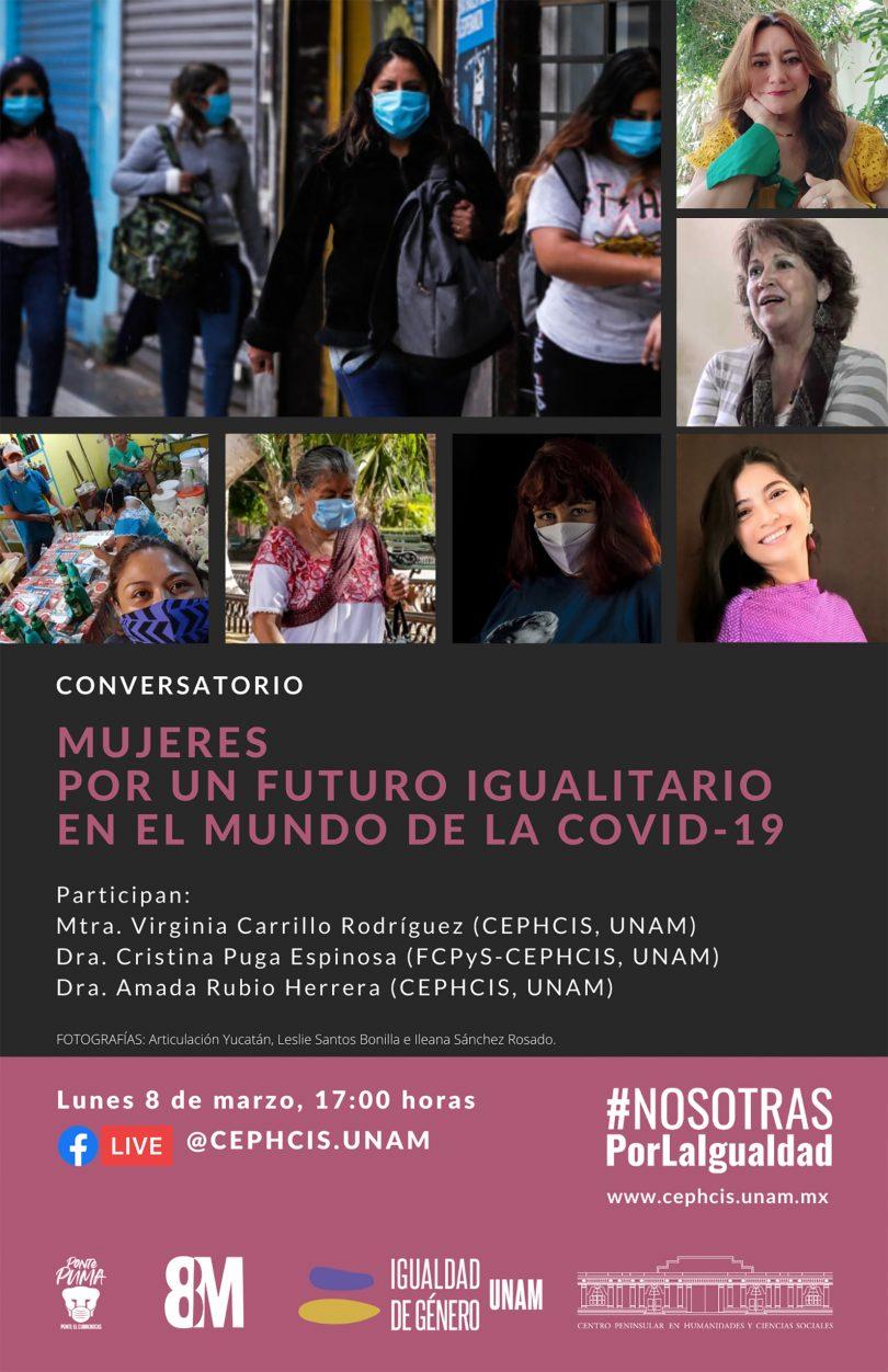 Mujeres por un futuro igualitario en el mundo de la Covid - 19
