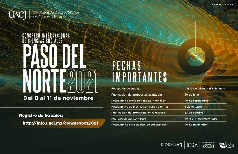 Congreso Internacional de Ciencias Sociales Paso del Norte 2021