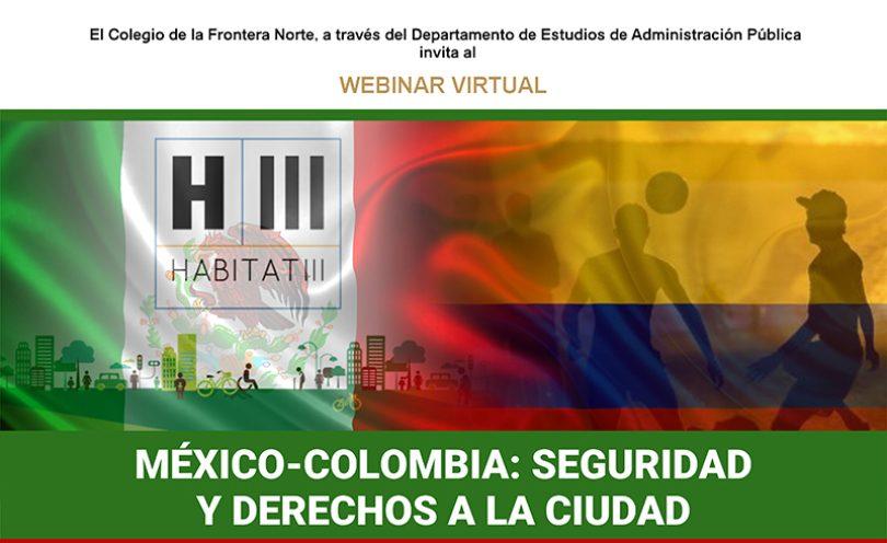 México-Colombia: Seguridad y Derechos a la Ciudad