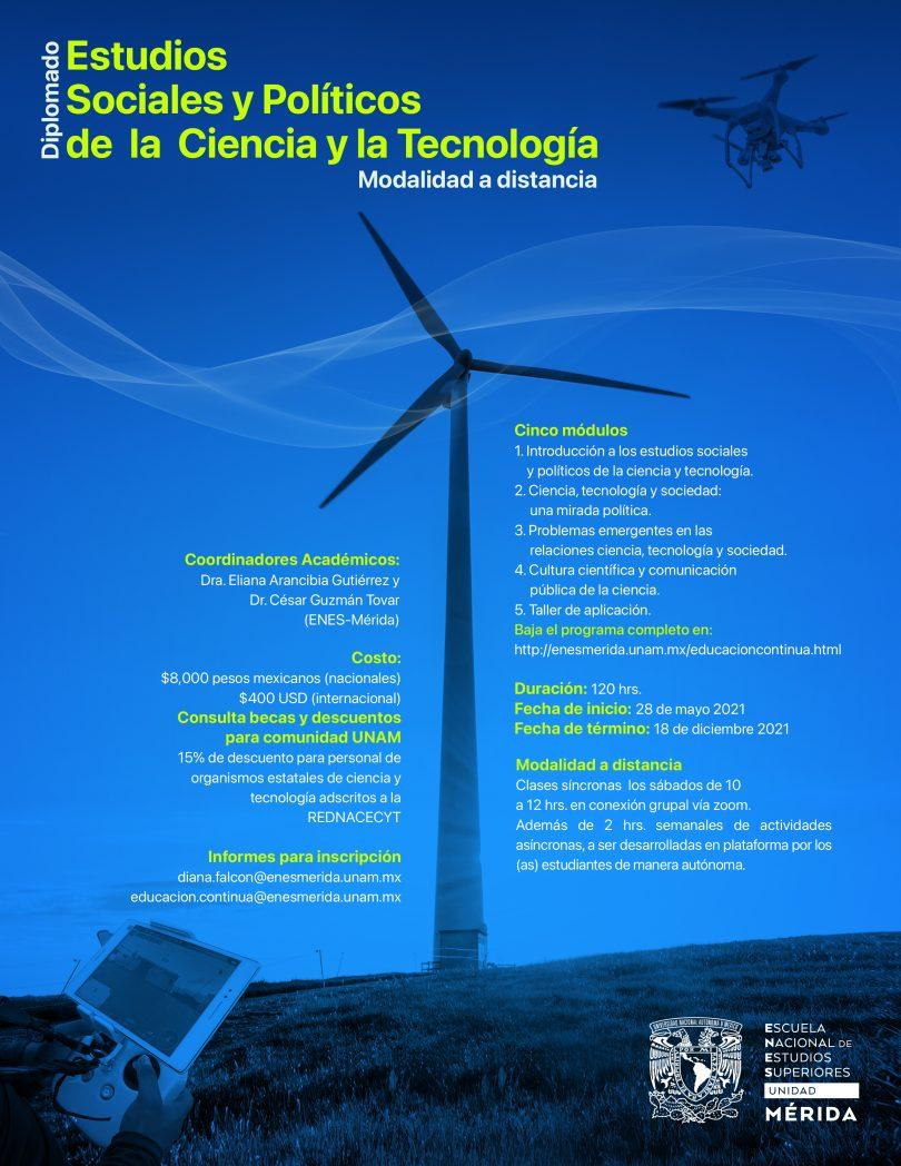 Diplomado en Estudios Sociales y Políticos de la Ciencia y la Tecnología