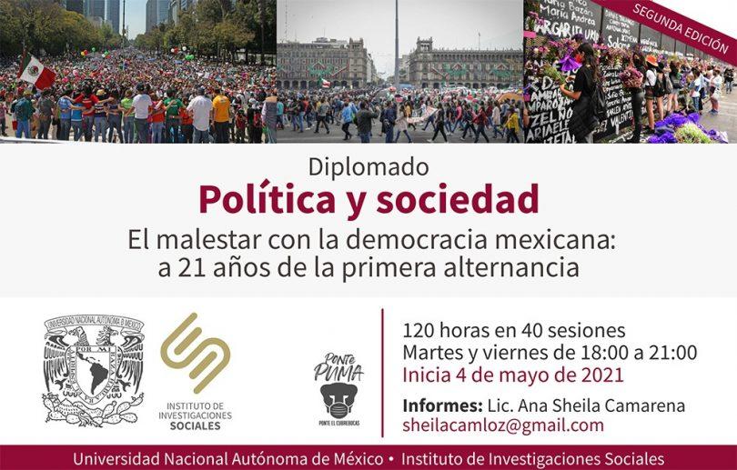 Diplomado El malestar con la democracia mexicana