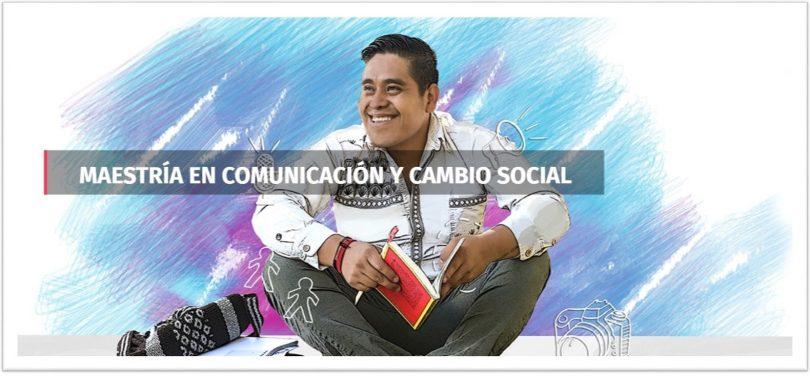 Maestría en comunicación y cambio social 2021-2023