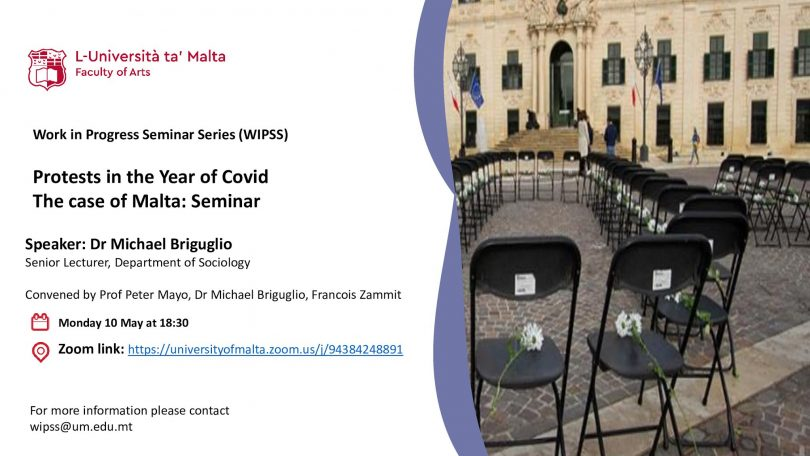 WIPSS Seminar: Protests in the year of Covid