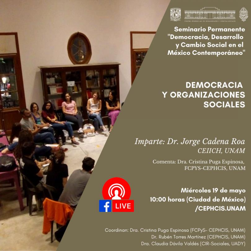Democracia y organizaciones sociales