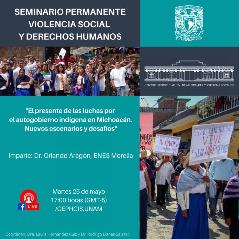 El presente de las luchas por el autogobierno indígena en Michoacán