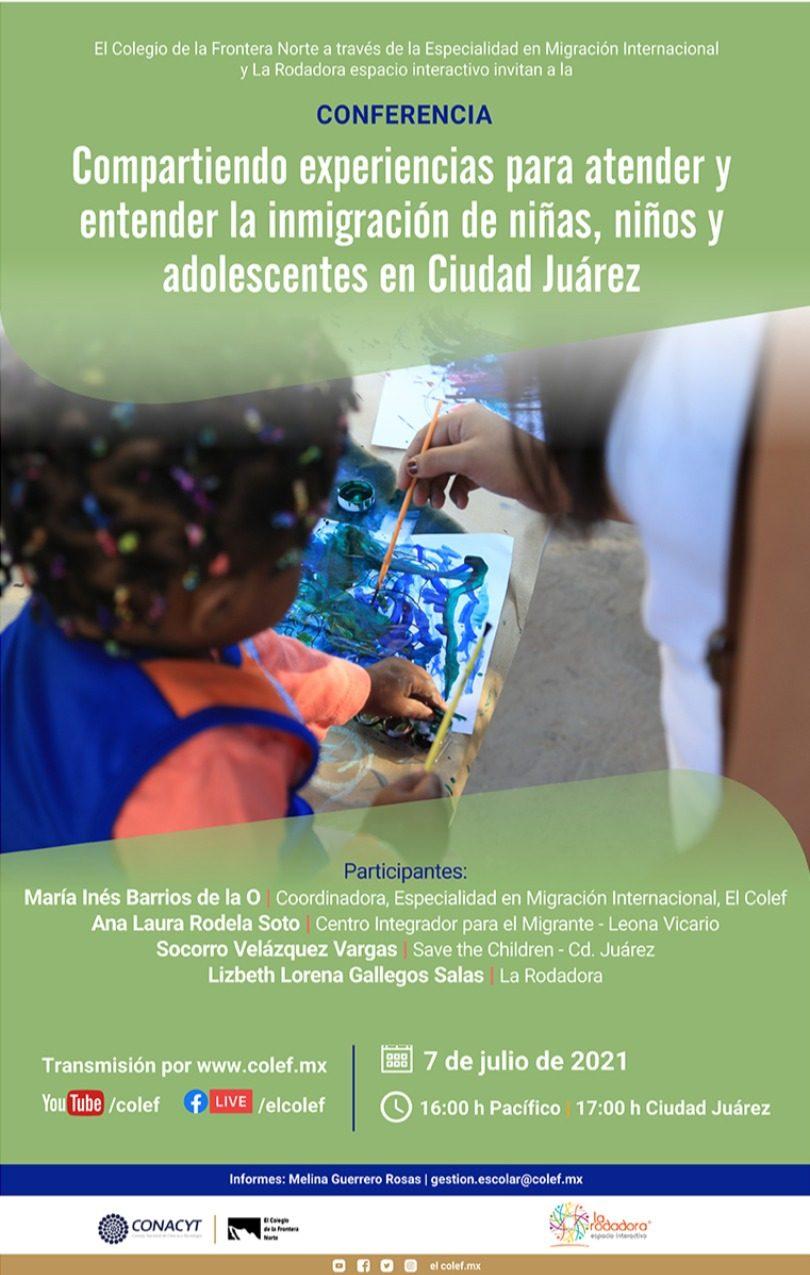 Compartiendo experiencias para atender la inmigración de niñas, niños y adolescentes