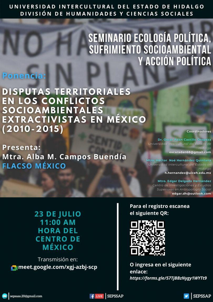 Disputas territoriales en los conflictos socioambientales extractivistas en México