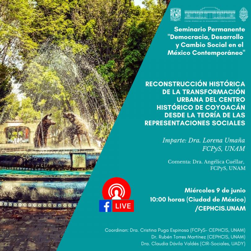 Reconstrucción histórica de la transformación urbana del Centro Histórico de Coyoacán