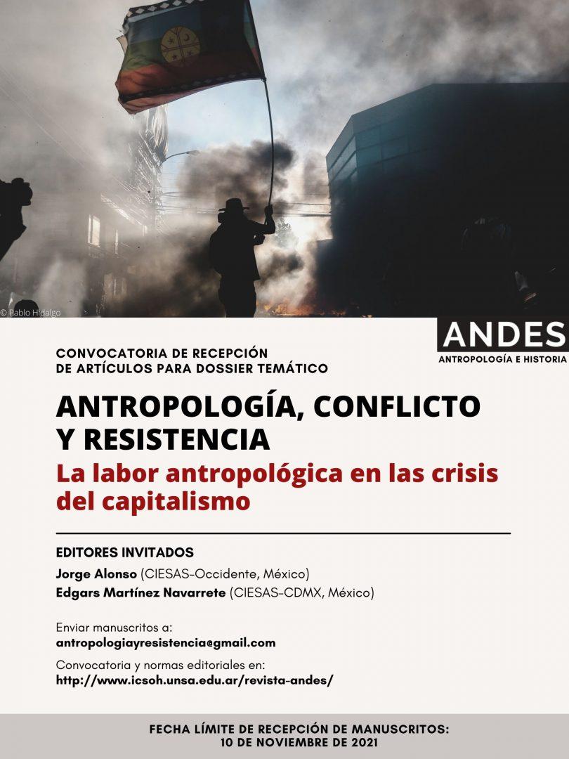 Antropología, Conflicto Y Resistencia