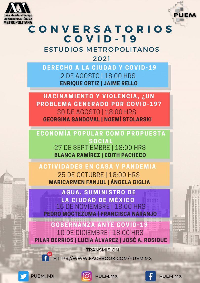 Conversatorios COVID-19