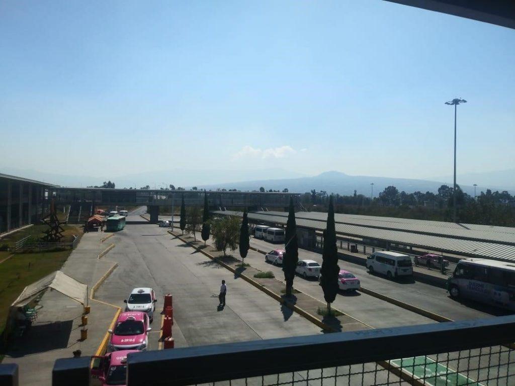 Imagen 1. Centro de Transferencia Modal (CETRAM) Tláhuac, Ciudad de México, noviembre, 2020. Fotografía tomada por la autora