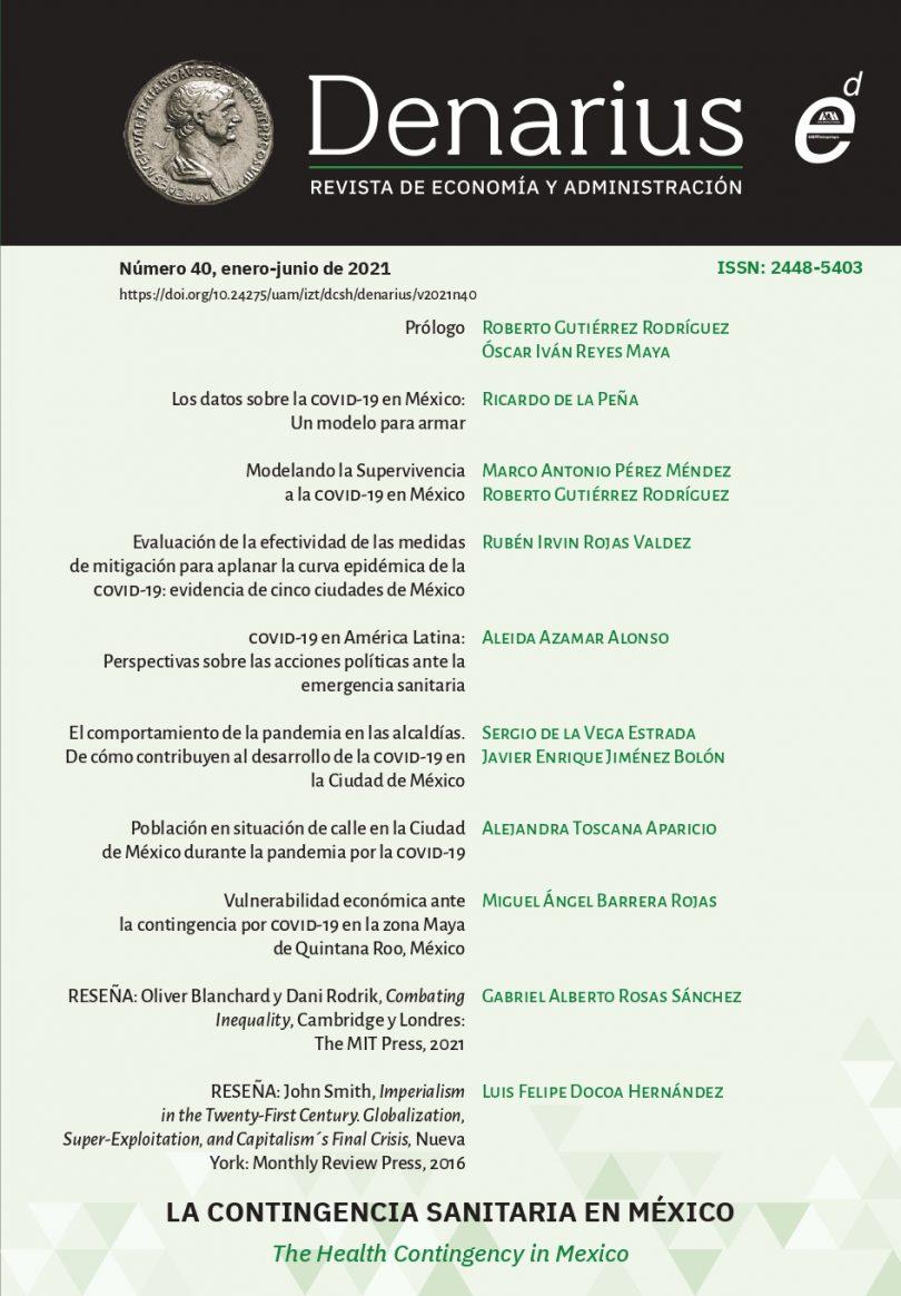 Denarius. Revista de economía y administración, núm. 40
