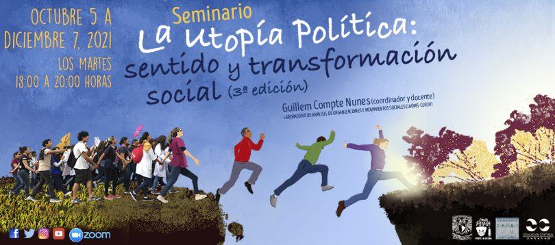 """Seminario """"La utopía política: sentido y transformación social (3ª ed.)"""""""
