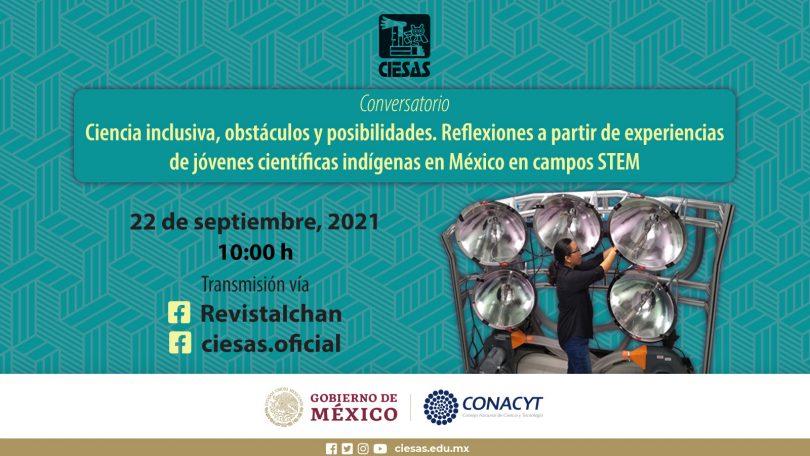 Conversatorio: Ciencia inclusiva, obstáculo y posibilidades