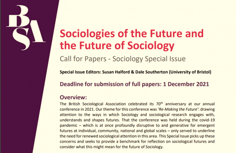 Sociologies of the Future and the Future of Sociology
