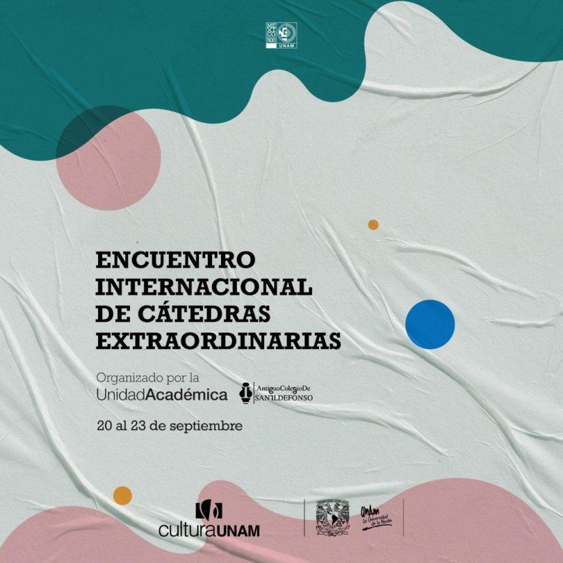 Encuentro Internacional de Cátedras Extraordinarias